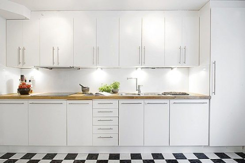 White Kitchen Handles Stripes Bold V Demure This Or That In